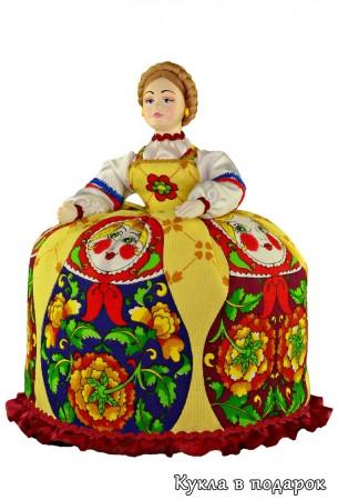 Баба на чайник кукла чайница