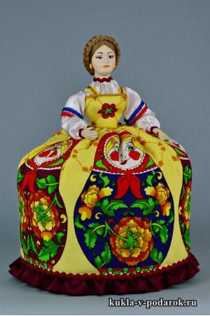 Фото баба на чайник кукла в подарок