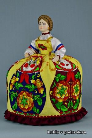 Фото баба на чайник кукла чайница