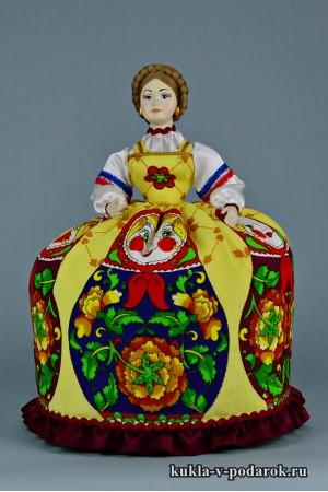 Фото баба на чайник кукла