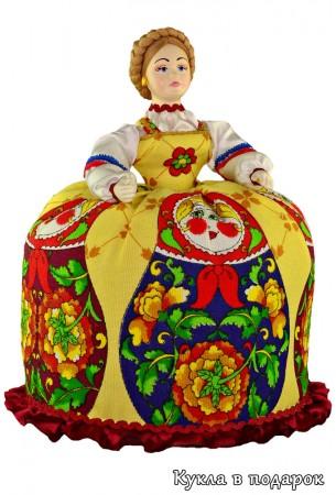 Баба на чайник кукла в подарок