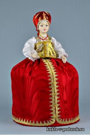 фото грелка на чайник заварник красивая кукла