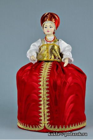 фото грелка на чайник заварник hand made кукла