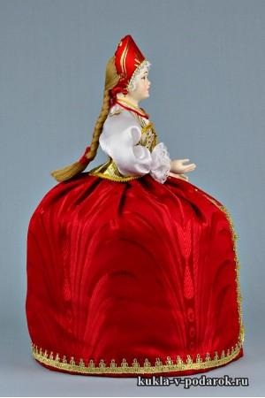 фото грелка на чайник заварник кукла в подарок