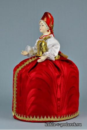 фото грелка на чайник заварник красная и белая