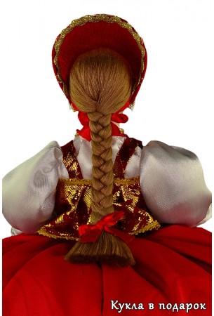 Кукла в подарок грелка на чайник заварник