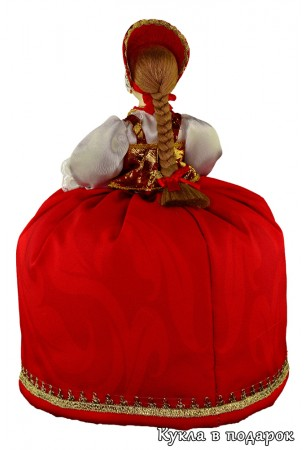 Подарок для чая кукла грелка на заварник