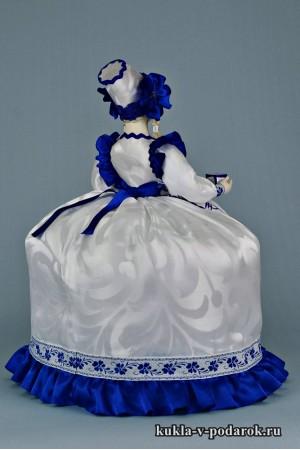 фото в стиле Гжель авторская кукла