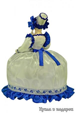 Стиль Гжель кукла грелка на чайник