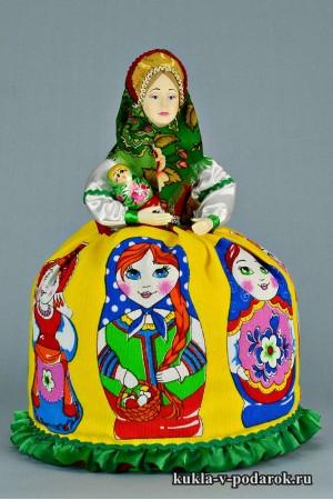 Матрешка русская кукла в подарок