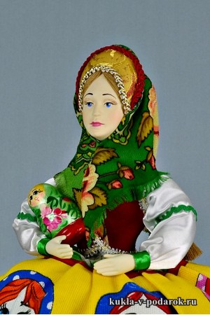 Матрешка русская кукла подарок иностранцу