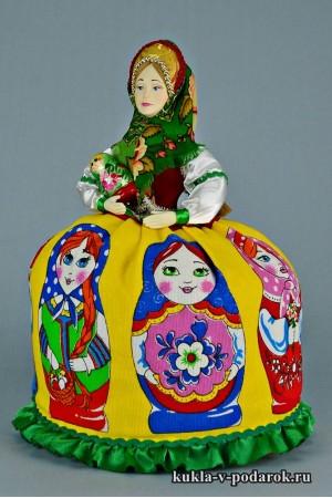 Матрешка русская кукла в русском стиле