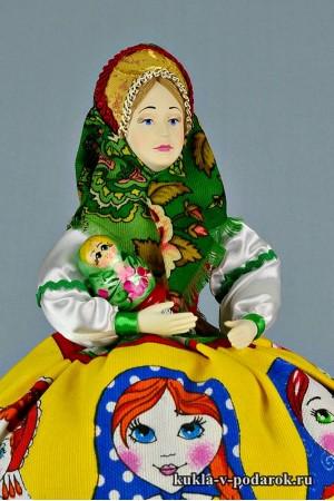 Матрешка русская кукла авторская работа
