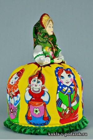 Матрешка русская кукла хендмейд подарок