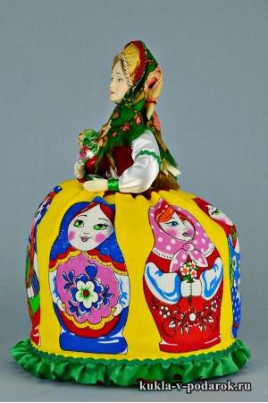 Матрешка русская кукла московский сувенир