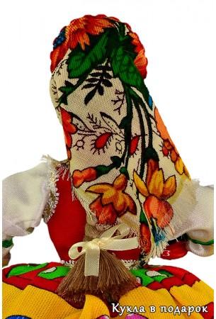 Матрешка в русском сарафане кукла грелка на чайник