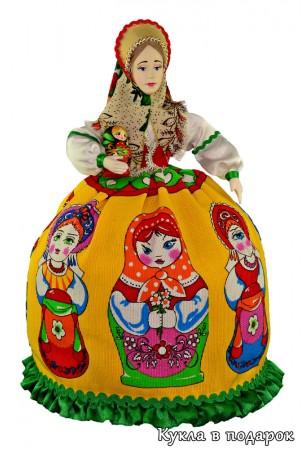 Матрешка кукла ручной работы сделано в России