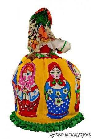 Традиционная русская красавица - кукла Матрешка
