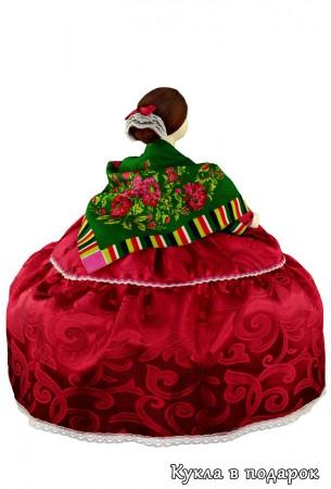 Барышня на чайник кукла грелка