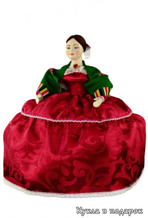 Барышня на чайник кукла России
