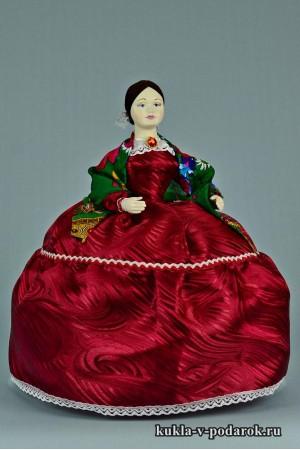 фото Барышня на чайник кукла на чайник