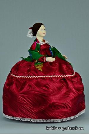 фото Барышня на чайник авторская кукла