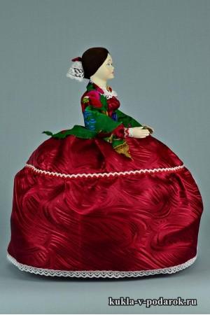 фото Барышня на чайник кукла в подарок