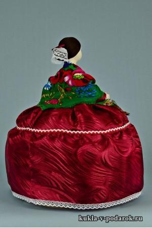фото Барышня на чайник кукла грелка
