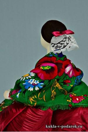 фото Барышня на чайник подарок женщине