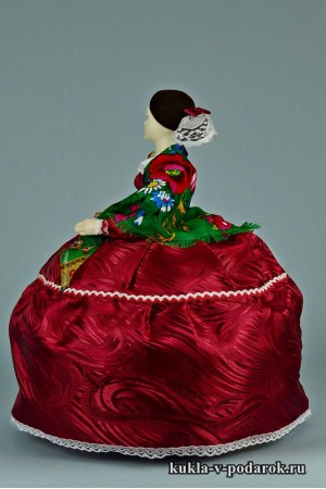 фото Барышня на чайник московская кукла