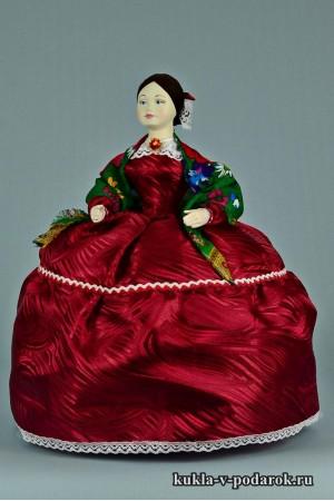 фото Барышня на чайник кукла России