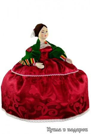 Барышня на чайник красивая авторская кукла