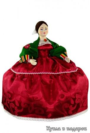 Барышня на чайник кукла на чайник
