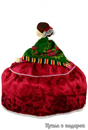 Барышня на чайник московская кукла