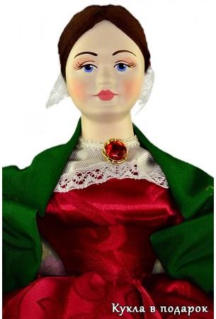 Барышня на чайник кукла