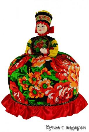 Авторская кукла Жостово ручной работы