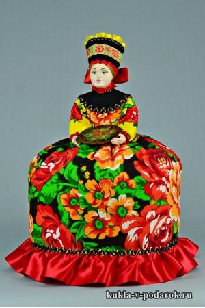 фото подарок на кухню русская кукла