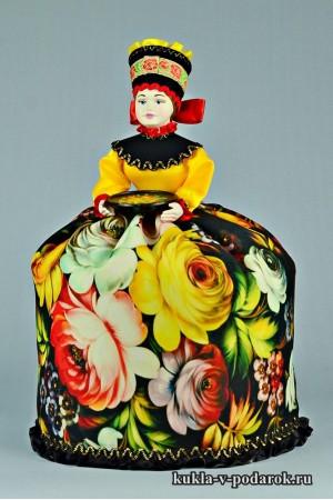 фото подарок на кухню кукла жостовская роспись