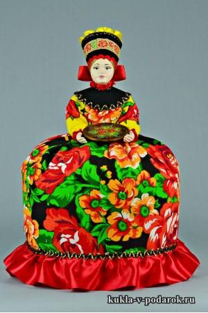 фото подарок на кухню кукла жостовская