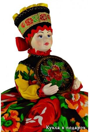 Подарок для мамы на день рождения кукла Жостово