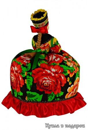Кукла Жостово красивый бизнес сувенир для иностранца