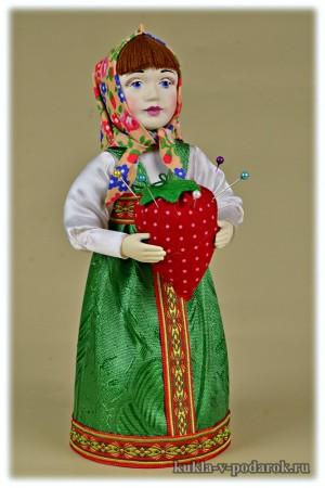 Кукла игольница Маша