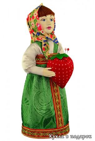Кукла сохранит иголки мастера шитья и рукоделия