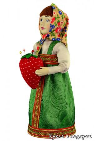 Подарок девушке кукла игольница