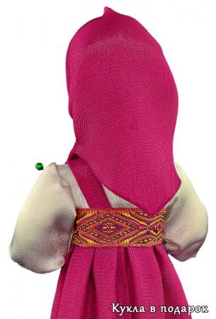 Куколка в платке для хранения иголок