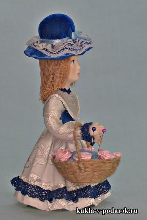 Кукла игольница сделано в России Москва
