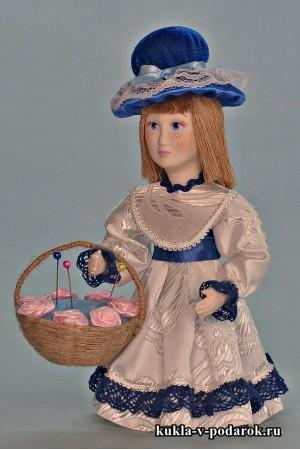 Кукла игольница сделана в России Москва