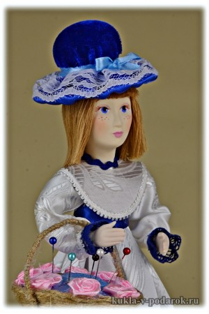 Игольница кукла ручной работы
