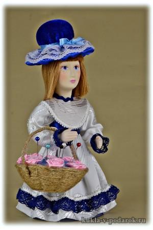 Авторская игольница кукла из Москвы
