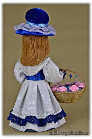 Поделка игольница кукла ручная работа